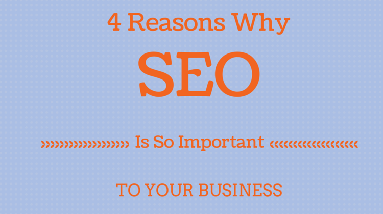 4 Reasons Why SEO is so Important to Your Business