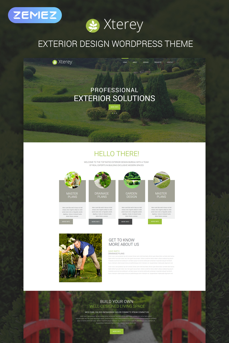 Exterior WordPress Theme