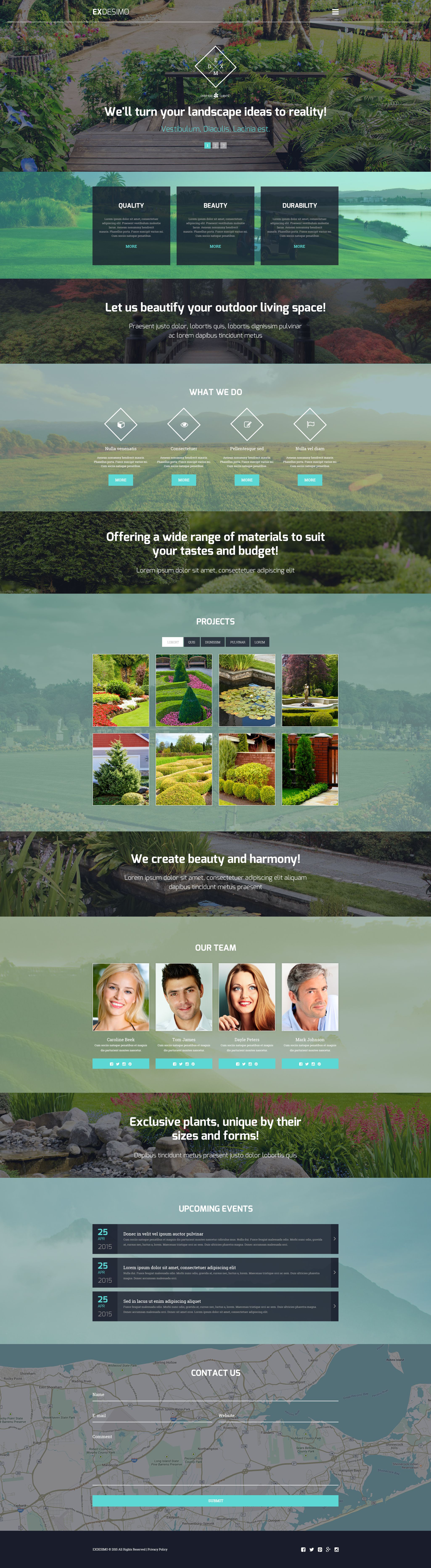 exdesimo WordPress theme