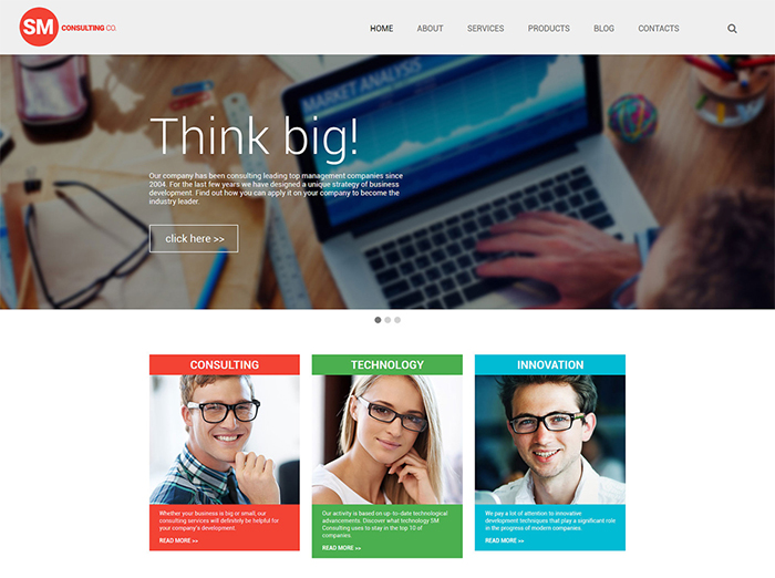 Corporate WP Template
