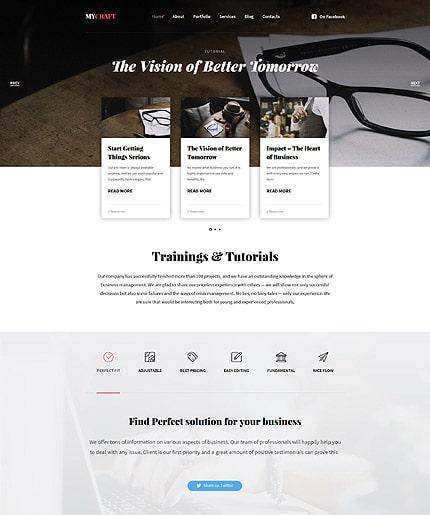 Crafts Responsive WordPress Theme