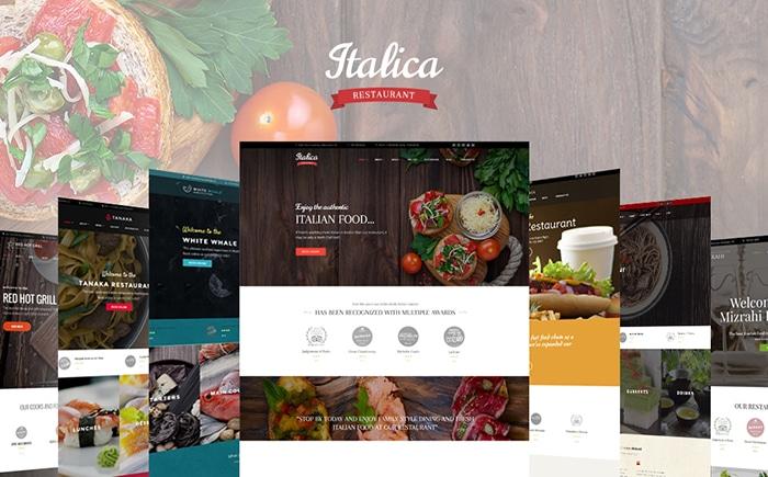 WordPress Restaurant Theme Bundle