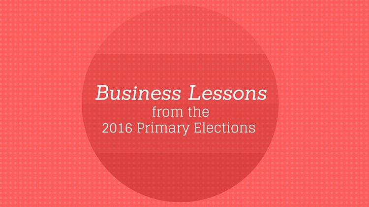 Business Lessons primary elections
