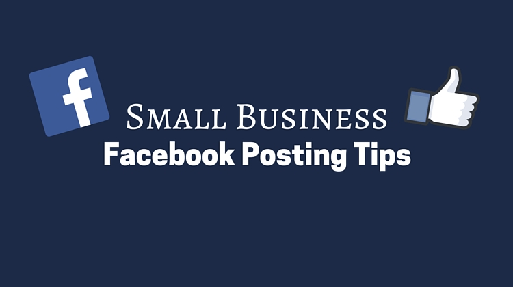 Small Business facebook posting