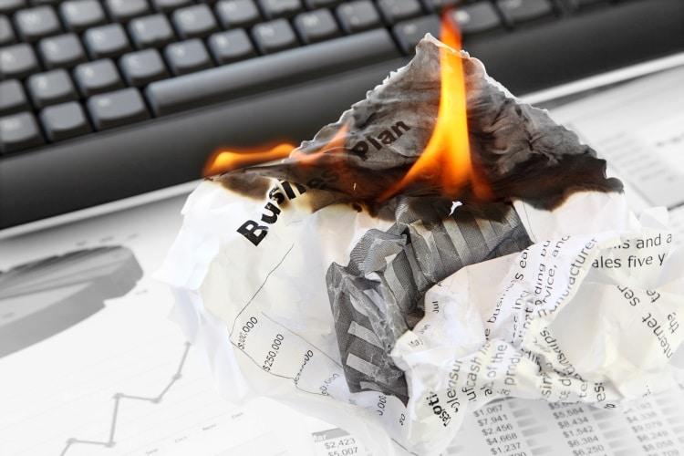 business fire