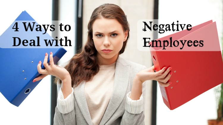 business woman binders negative employee angry annoyed