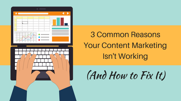content marketing isnt working