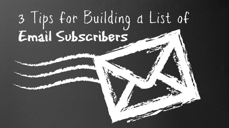 email marketing newsletter subscribers