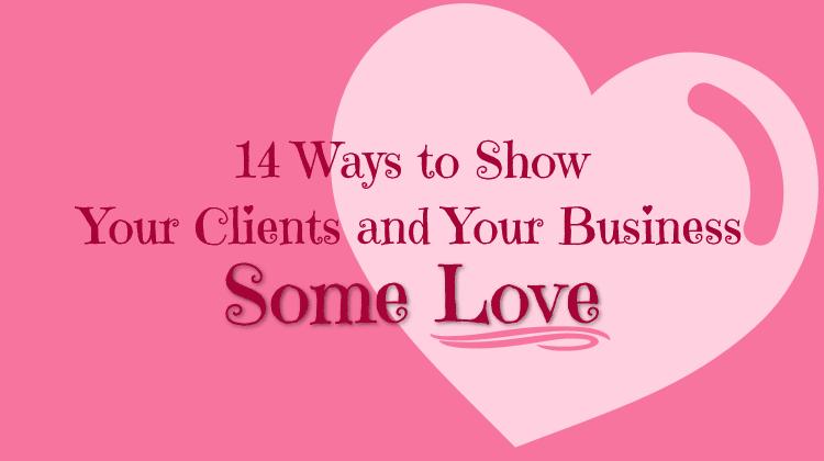 show clients business love