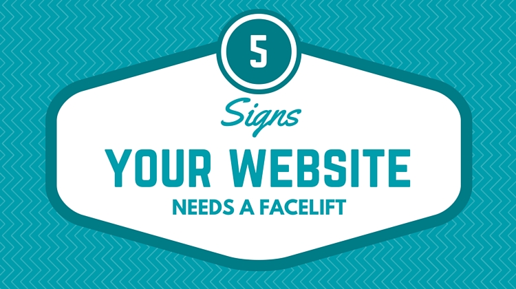 website needs a facelift